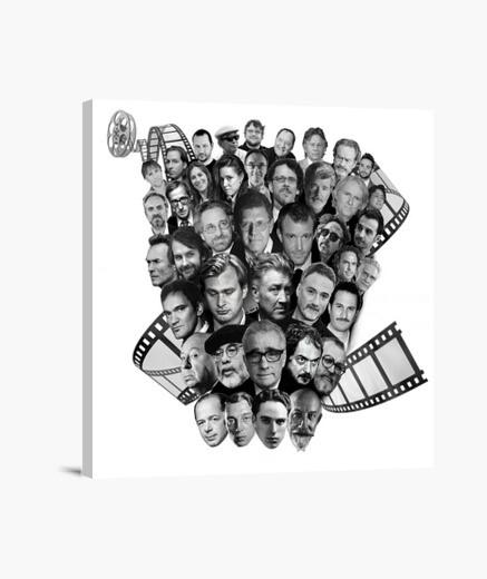 Lienzo Directores de Cine
