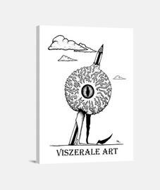 Diseño 2: Impaled Eye Logo