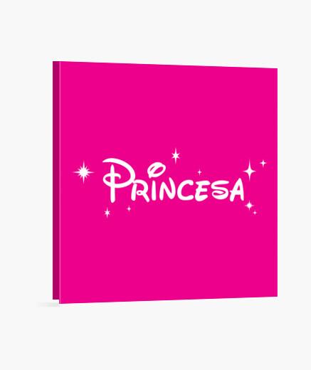 Stampa su tela disney princess bianco