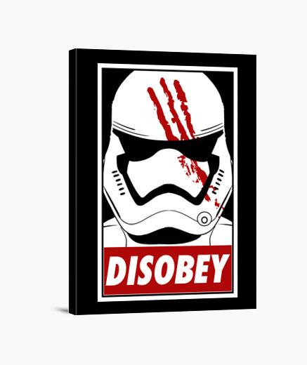 Lienzo Disobey (black)
