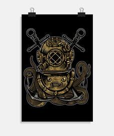 Diver Octopus