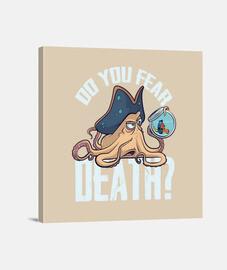 Do you fear death? - Lienzo Cuadrado 1:1 - (40 x 40 cm)