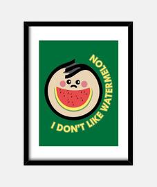 dont like watermelon