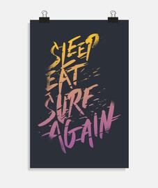 dormir eat  surfer encore