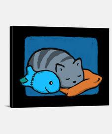 dormire con i pesci