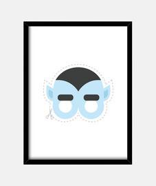 dracula maschera