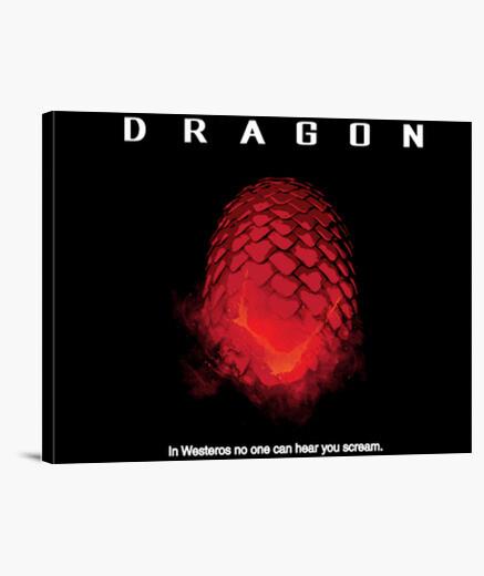 Lienzo dragón