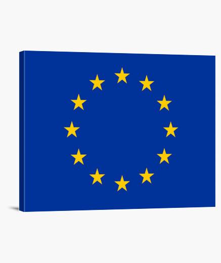 Tableau drapeau de l' union européenne