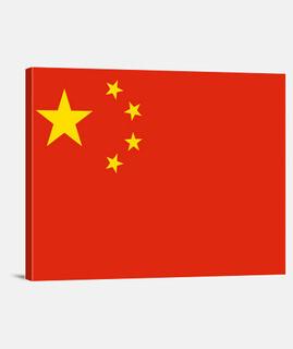 drapeau república de porcelaine populaire