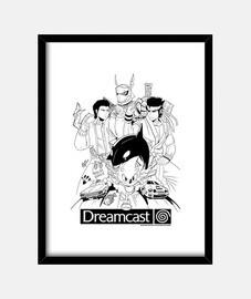 Dreamcast Heroes - Cuadro