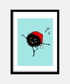 drôle de danse mal de noël bug