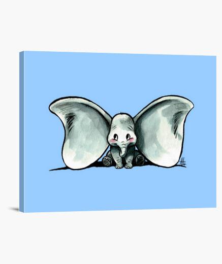 Lienzo Dumbo