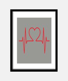 Ecg corazon amor