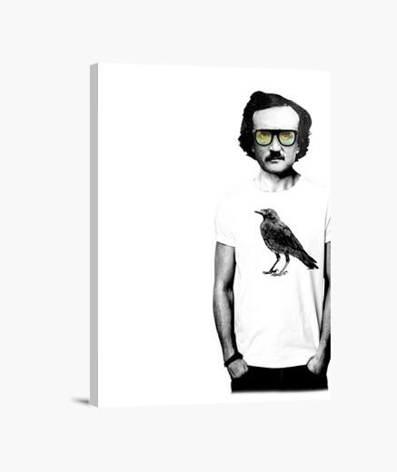 Edgar Allan Poe lienzo