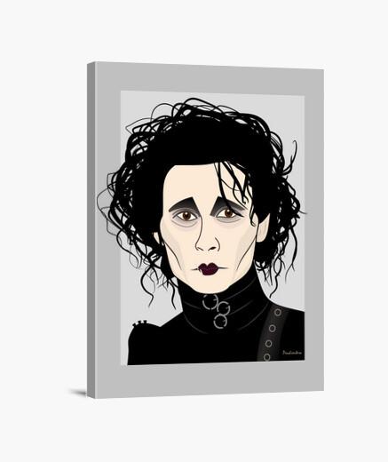Edward scissorhands canvas
