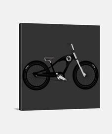 efedefunko © 8Ball Cruiser Bike - Lienzo Cuadrado 1:1 - (40 x 40 cm)