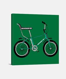 efedefunko © Bicicross BH 1978 Green - Lienzo Cuadrado 1:1 - (40 x 40 cm)