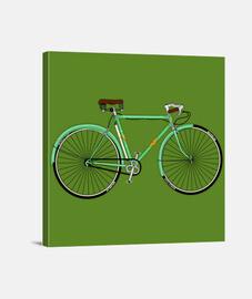efedefunko © Gimson Esbelta Green 60´s - Lienzo Cuadrado 1:1 - (40 x 40 cm)