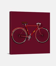 efedefunko © Gimson Esbelta Red 60´s - Lienzo Cuadrado 1:1 - (40 x 40 cm)