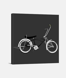 efedefunko © Low Rider Black - Lienzo Cuadrado 1:1 - (40 x 40 cm)