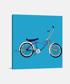 efedefunko © Low Rider Blue - Lienzo Cuadrado 1:1 - (40 x 40 cm)