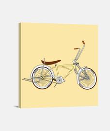 efedefunko © Low Rider Custom Cream - Lienzo Cuadrado 1:1 - (40 x 40 cm)