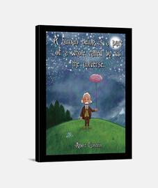 Einstein y el universo poster