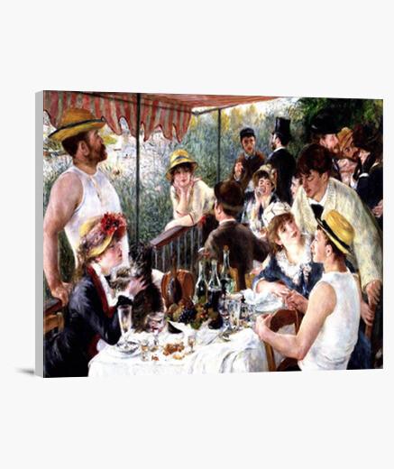Lienzo El almuerzo de los remeros (1880-1881)