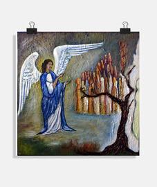 El Ángel y las almas (póster)