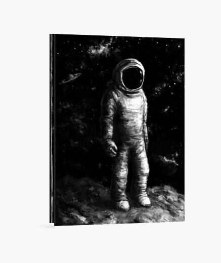 Lienzo el astronauta