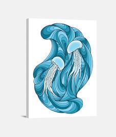 El baile de las medusas (lienzo)