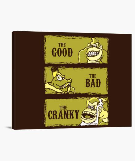 Lienzo el bueno, el malo y el mal humor