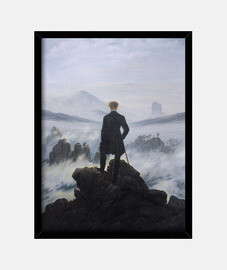 el caminante sobre el mar de nubes (1818