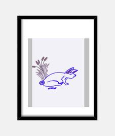 el conejo blaco
