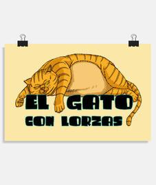 EL GATO CON LORZAS RUBIO