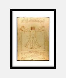 El hombre de Vitrubio - Da Vinci