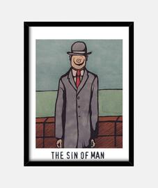 El pecado del hombre - The sin of Man (René Magritte - Le fils de l'homme)