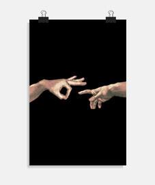 El póster de Adán