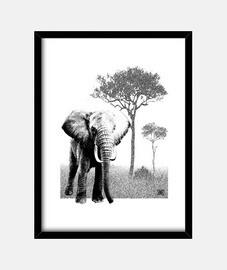 Elefante en África