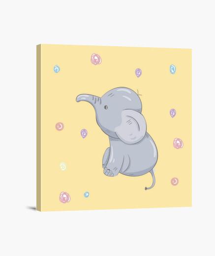 Lienzo elefantito