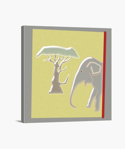 Lienzo Elephant
