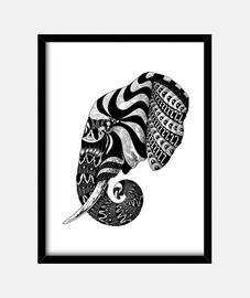 elephant ornate