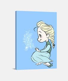 Elsa Frozen Lienzo