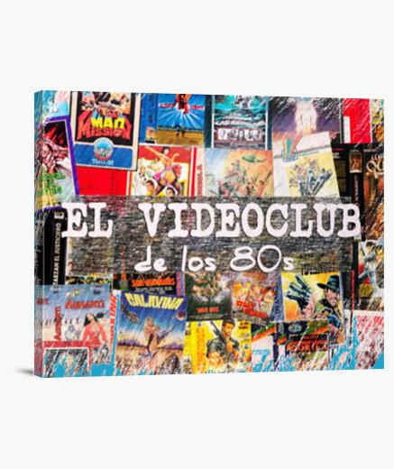Lienzo Elvideoclubdelos80s