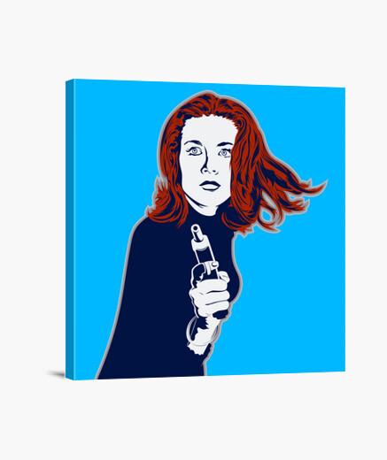 Lienzo Emma Peel