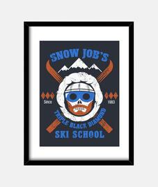 emploi neige école de ski