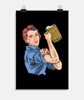 empoderamiento de la cerveza remachador