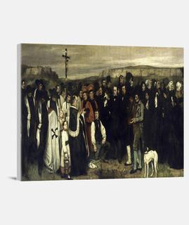 Entierro en Ornans  (1850)