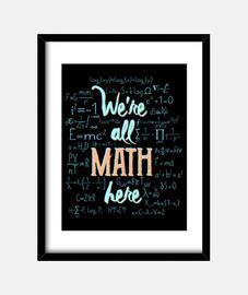 erano all matematica qui