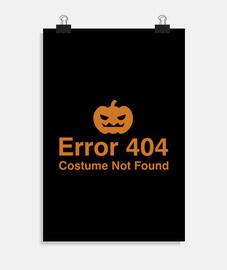 error 404 traje no encontrado